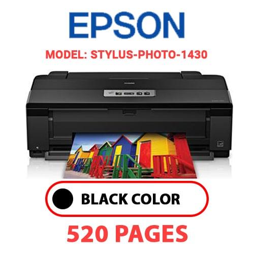 STYLUS PHOTO 1430 - EPSON STYLUS-PHOTO-1430 - BLACK INK
