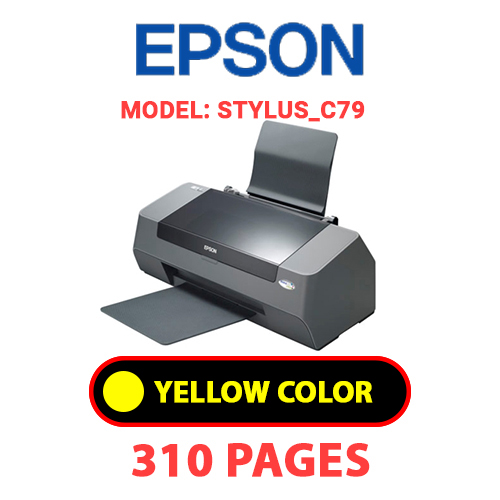 STYLUS C79 3 - EPSON STYLUS_C79 - YELLOW INK