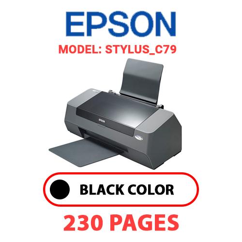STYLUS C79 - EPSON STYLUS_C79 PRINTER - BLACK INK