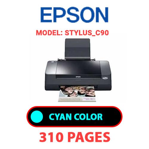 STYLUS C90 1 - EPSON STYLUS_C90 - CYAN INK