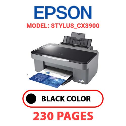 STYLUS CX3900 - EPSON STYLUS_CX3900 PRINTER - BLACK INK
