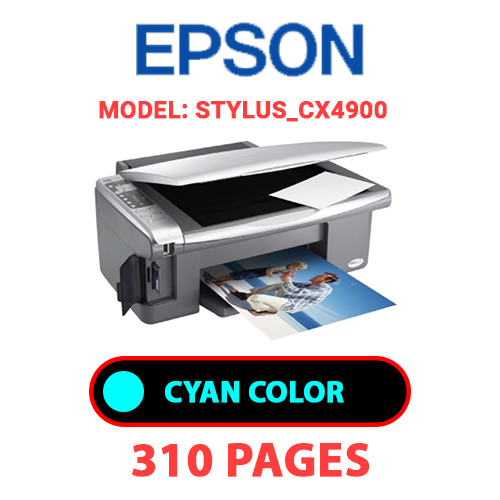 STYLUS CX4900 1 - EPSON STYLUS_CX4900 - CYAN INK