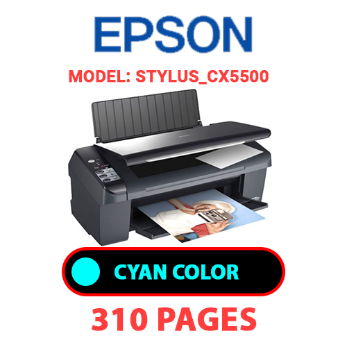 STYLUS CX5500 1 - EPSON STYLUS_CX5500 - CYAN INK