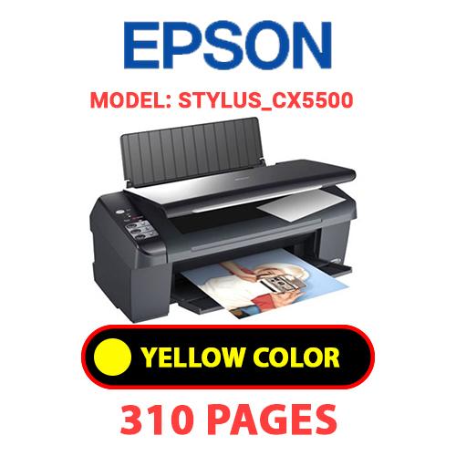 STYLUS CX5500 3 - EPSON STYLUS_CX5500 - YELLOW INK