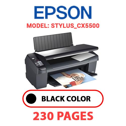 STYLUS CX5500 - EPSON STYLUS_CX5500 PRINTER - BLACK INK
