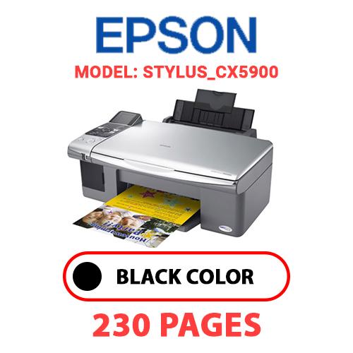 STYLUS CX5900 - EPSON STYLUS_CX5900 PRINTER - BLACK INK