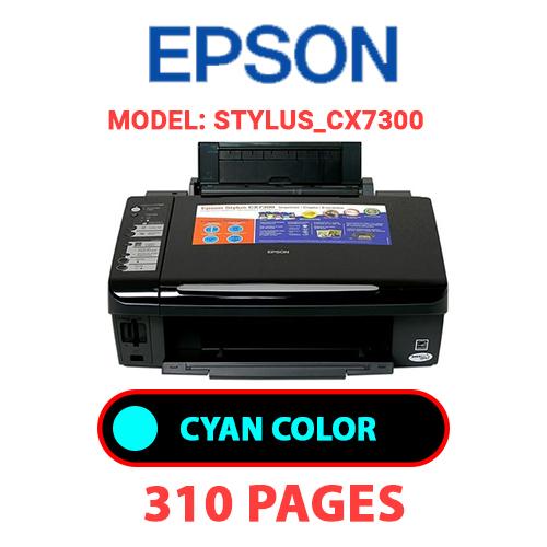 STYLUS CX7300 1 - EPSON STYLUS_CX7300 - CYAN INK