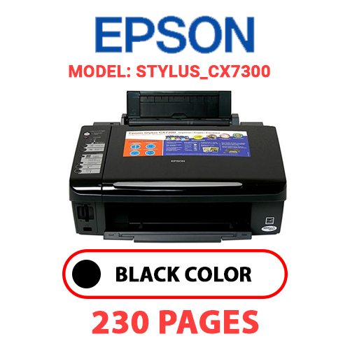 STYLUS CX7300 - EPSON STYLUS_CX7300 PRINTER - BLACK INK