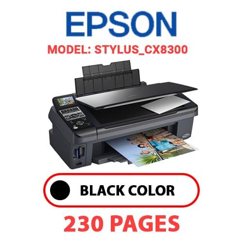 STYLUS CX8300 - EPSON STYLUS_CX8300 PRINTER - BLACK INK