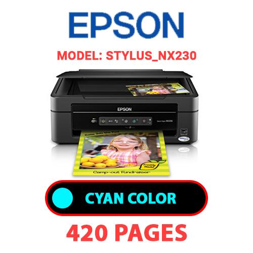STYLUS NX230 1 - EPSON STYLUS_NX230 - CYAN INK