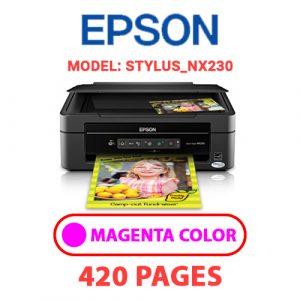 STYLUS NX230 2 - Epson Printer