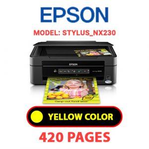 STYLUS NX230 3 - Epson Printer