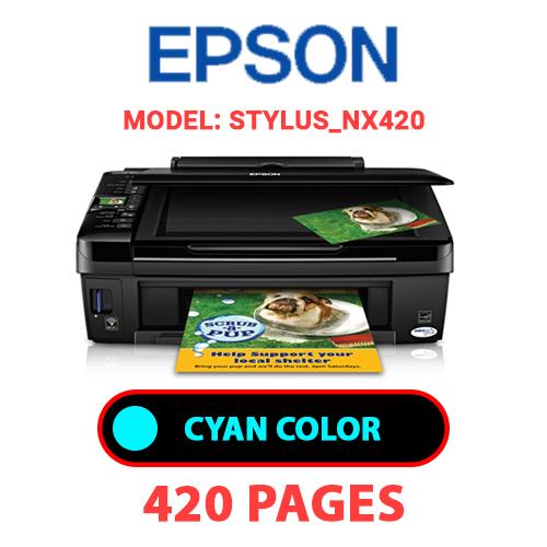 STYLUS NX420 1 - EPSON STYLUS_NX420 - CYAN INK