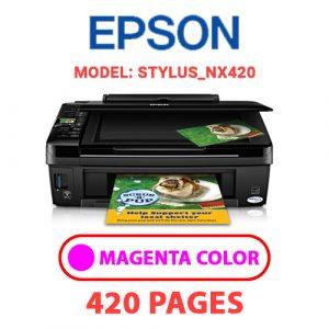 STYLUS NX420 2 - Epson Printer