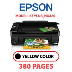 STYLUS NX420 - Epson Printer