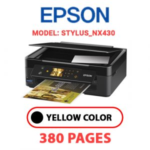STYLUS NX430 - Epson Printer