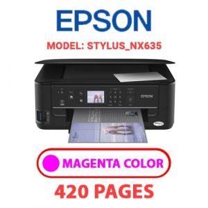 STYLUS NX635 2 - Epson Printer