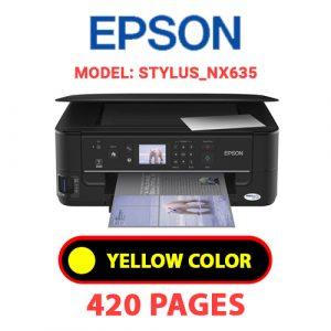 STYLUS NX635 3 - Epson Printer