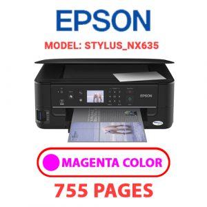 STYLUS NX635 6 - Epson Printer