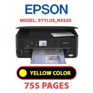 STYLUS NX635 7 - Epson Printer