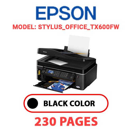 STYLUS OFFICE TX600FW - EPSON STYLUS_OFFICE_TX600FW PRINTER - BLACK INK
