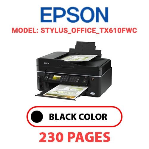STYLUS OFFICE TX610FWC - EPSON STYLUS_OFFICE_TX610FWC PRINTER - BLACK INK