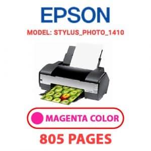 STYLUS PHOTO 1410 2 - Epson Printer