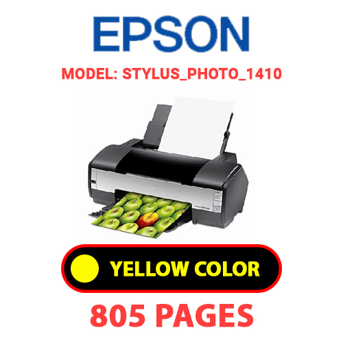 STYLUS PHOTO 1410 3 - EPSON STYLUS_PHOTO_1410 - YELLOW INK