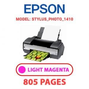 STYLUS PHOTO 1410 5 - Epson Printer
