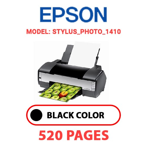 STYLUS PHOTO 1410 - EPSON STYLUS_PHOTO_1410 - BLACK INK