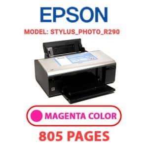 STYLUS PHOTO R290 2 - Epson Printer