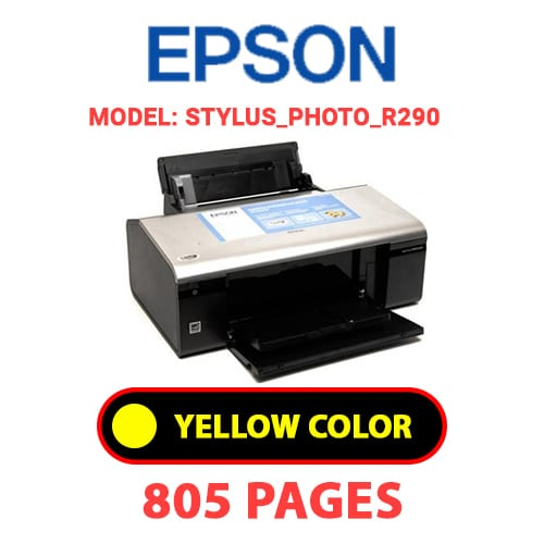 STYLUS PHOTO R290 3 - EPSON STYLUS_PHOTO_R290 - YELLOW INK