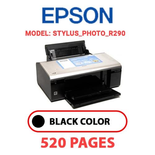 STYLUS PHOTO R290 - EPSON STYLUS_PHOTO_R290 - BLACK INK