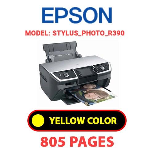 STYLUS PHOTO R390 3 - EPSON STYLUS_PHOTO_R390 - YELLOW INK