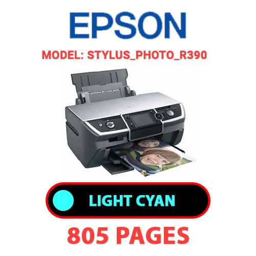 STYLUS PHOTO R390 4 - EPSON STYLUS_PHOTO_R390 - LIGHT CYAN INK