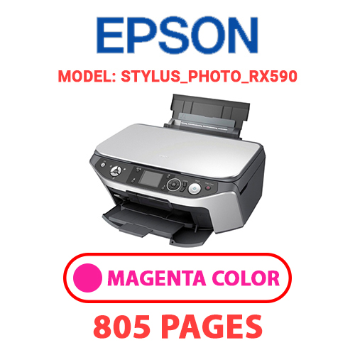 STYLUS PHOTO RX590 2 - EPSON STYLUS_PHOTO_RX590 - MAGENTA (RED) INK