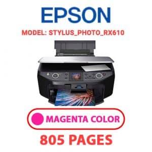 STYLUS PHOTO RX610 2 - Epson Printer
