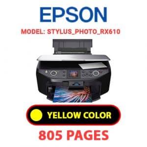 STYLUS PHOTO RX610 3 - Epson Printer