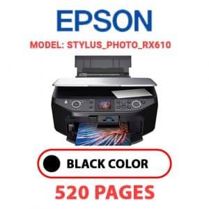 STYLUS PHOTO RX610 - Epson Printer