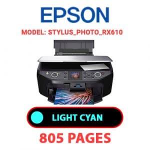 STYLUS PHOTO RX610 4 - Epson Printer