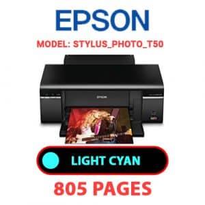 STYLUS PHOTO T50 4 - Epson Printer
