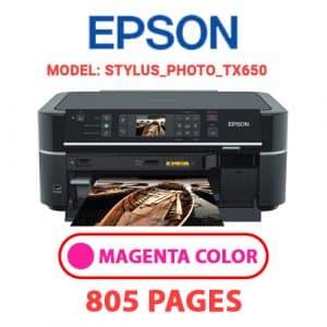STYLUS PHOTO TX650 2 - Epson Printer
