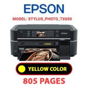STYLUS PHOTO TX650 3 - Epson Printer