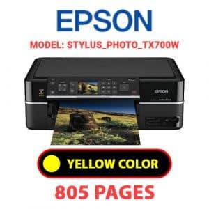STYLUS PHOTO TX700W 3 - Epson Printer
