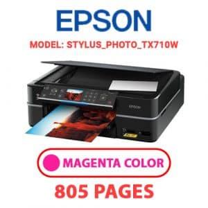 STYLUS PHOTO TX710W 2 - Epson Printer