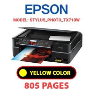 STYLUS PHOTO TX710W 3 - Epson Printer