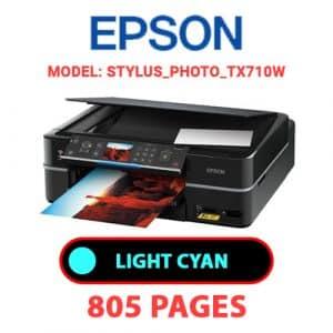 STYLUS PHOTO TX710W 4 - Epson Printer