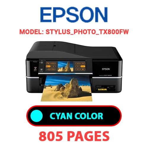 STYLUS PHOTO TX800FW 1 - EPSON STYLUS_PHOTO_TX800FW - CYAN (BLUE) INK