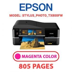STYLUS PHOTO TX800FW 2 - Epson Printer