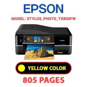 STYLUS PHOTO TX800FW 3 - Epson Printer